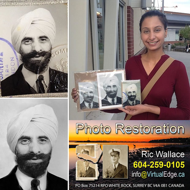 Ric Wallace can bring FADED or partially lost PHOTOS back to LIFE
